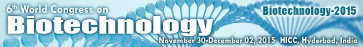 6th World Congress on Biotechnology