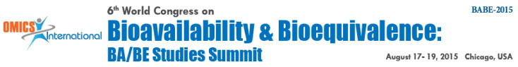 6<sup>th</sup> World Congress on Bioavailabity and Bioequivalence: Pharmaceutical R&D Summit