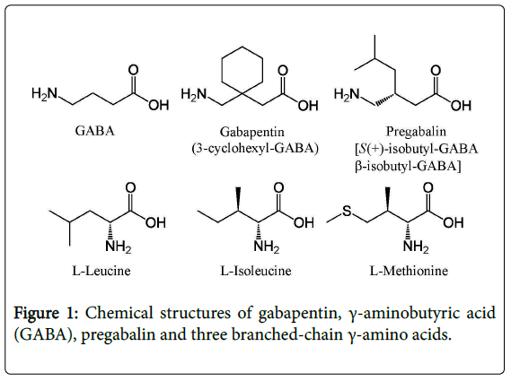 alcoholism-drug-dependence-Chemical-structures-gabapentin