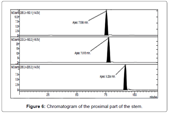 analytical-bioanalytical-techniques-Chromatogram-proximal-stem
