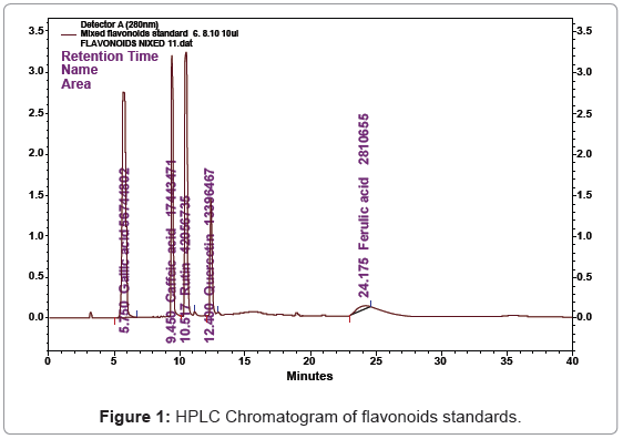 analytical-bioanalytical-techniques-HPLC-Chromatogram-flavonoids