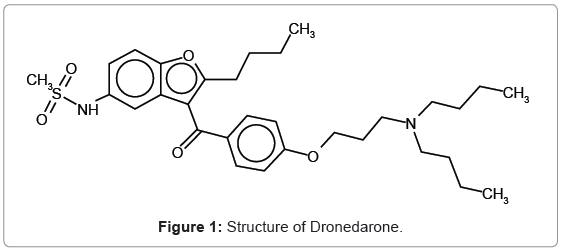 analytical-bioanalytical-techniques-Structure-Dronedarone