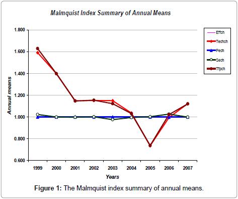 arabian-journal-business-management-review-Malmquist-index