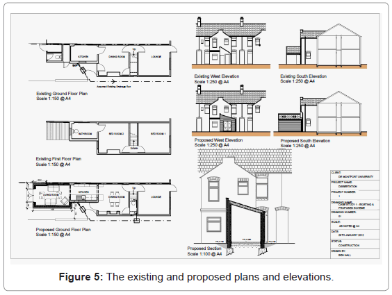 architectural-engineering-technology-the-existing-proposed
