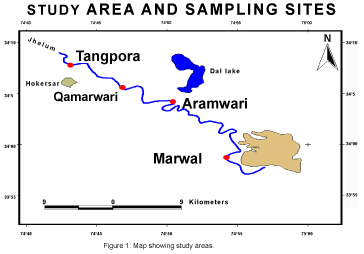 bacteriology-parasitology-Map-showing-study