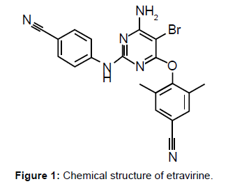 bioequivalence-bioavailability-chemical-structure-etravirine