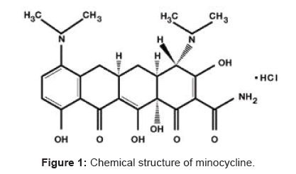 bioequivalence-bioavailability-chemical-structure-minocycline