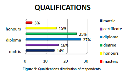 business-and-economics-journal-Qualifications-distribution