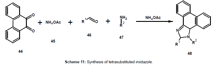 chemical-sciences-journal-tetrasubstituted-imidazole