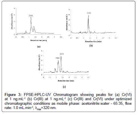 Chromatogram-hydrophilic-interactions