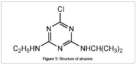 chromatography-separation-techniques-Structure-atrazine