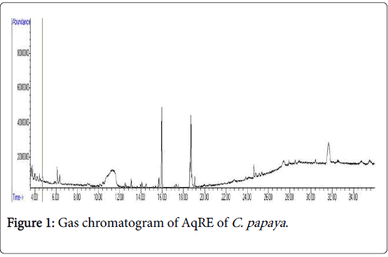 diabetes-metabolism-Gas-chromatogram