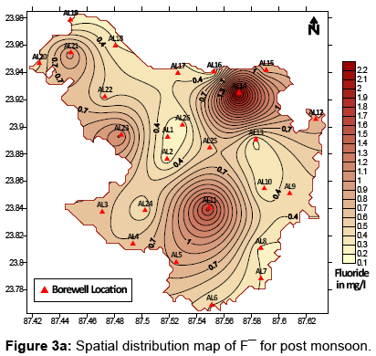 earth-science-climatic-change-Spatial-distribution-map