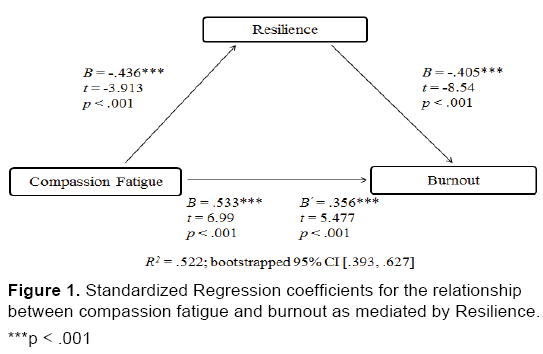 The compassion fatigue and resilience connection a survey of emergency mental health standardized coefficients resilience fandeluxe Images