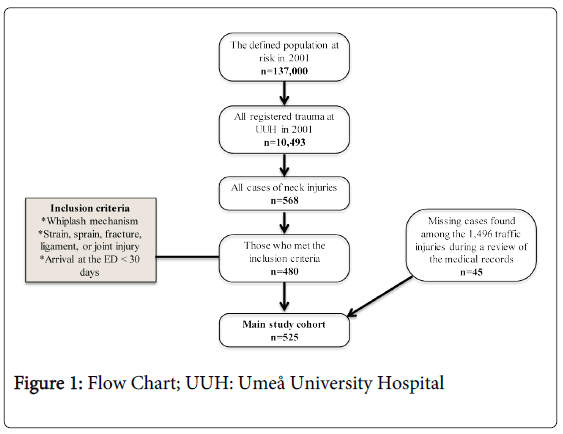 Neck injury after whiplash trauma in a defined population in epidemiology flow chart ccuart Image collections