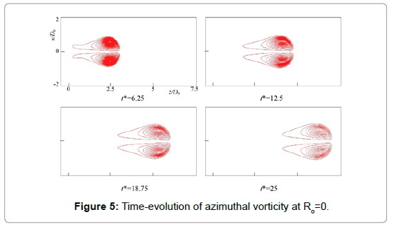 fluid-mechanics-time-evolution-azimuthal-vorticity