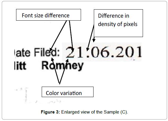 forensic-research-Enlarged-view-Sample