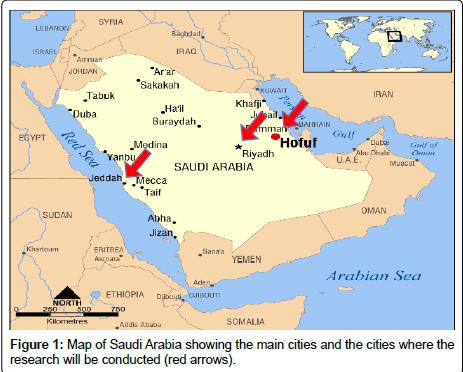 health-education-research-Map-Saudi-Arabia