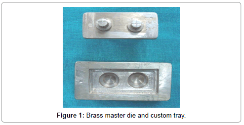interdisciplinary-medicine-dental-science-Brass-master-die-custom-tray