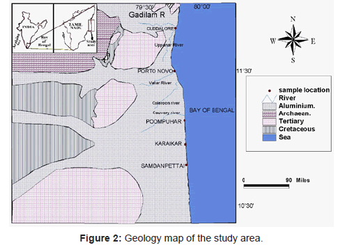 marine-science-research-Geology-map-study-area