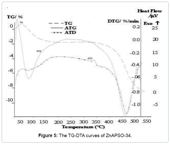 material-science-TG-DTA-curves
