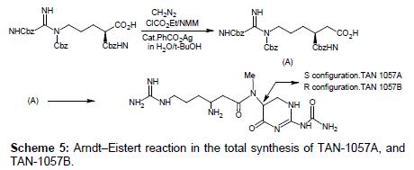 medicinal-chemistry-Eistert-reaction