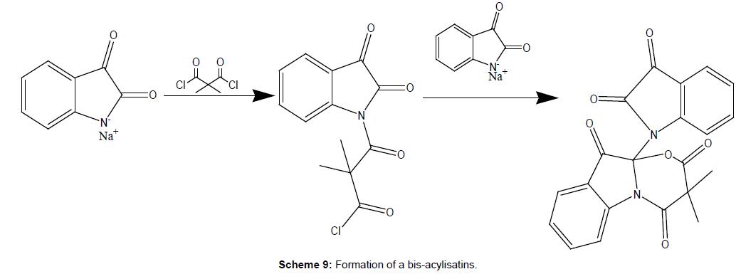 medicinal-chemistry-Formation-bis-acylisatins