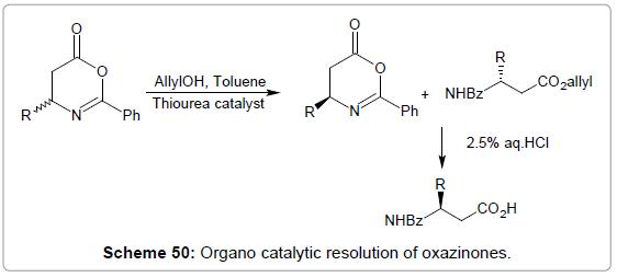 medicinal-chemistry-Organo-catalytic-oxazinones