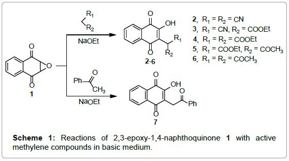medicinal-chemistry-Reactions-naphthoquinone-methylene