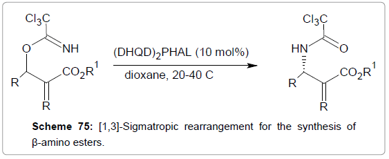medicinal-chemistry-Sigmatropic-rearrangement-esters