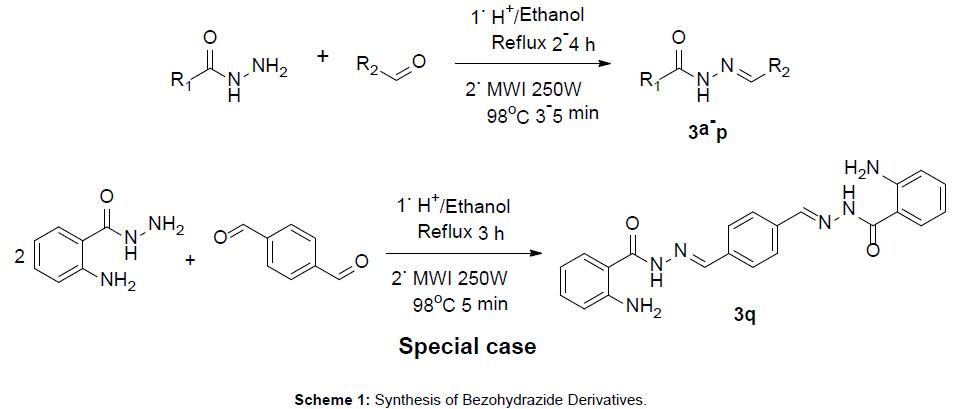 medicinal-chemistry-Synthesis-Bezohydrazide-Derivatives