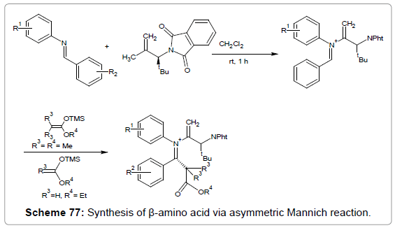 medicinal-chemistry-Synthesis-asymmetric-Mannich
