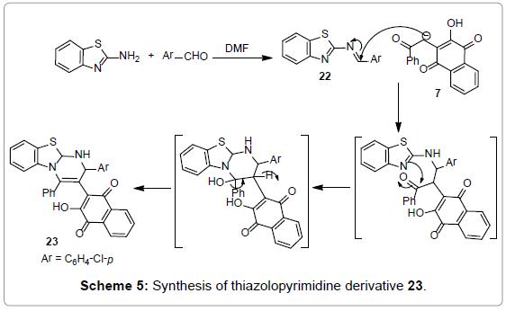 medicinal-chemistry-Synthesis-thiazolopyrimidine-derivative