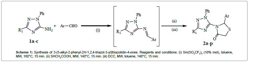 medicinal-chemistry-Synthesis-triazol-thiazolidin