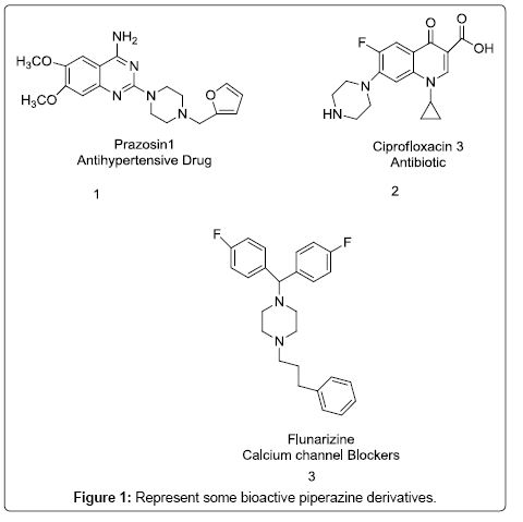 medicinal-chemistry-bioactive-piperazine