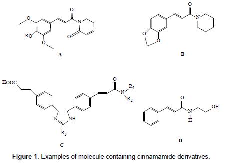 medicinal-chemistry-cinnamamide-derivatives