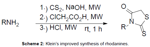 medicinal-chemistry-improved-synthesis-rhodanines