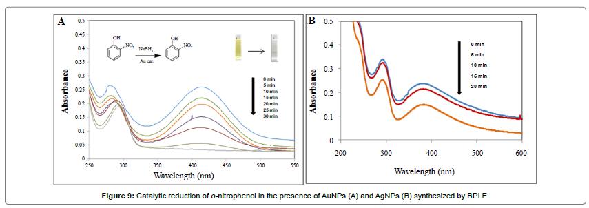 anomedicine-nanotechnology-Catalytic-reduction-nitrophenol-presence