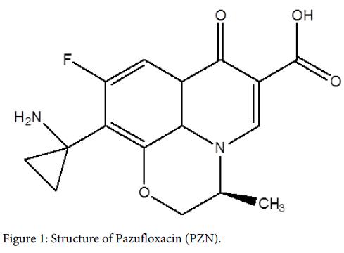 nuclear-medicine-Structure-Pazufloxacin