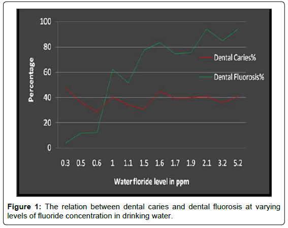 Patterns and Distribution of Dental Caries and Dental Fluorosis in