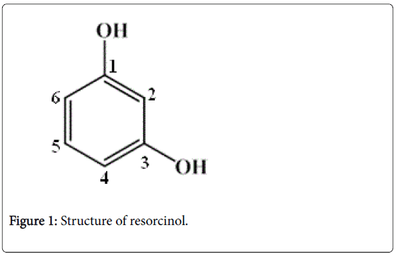 pharmaceutica-analytica-acta-Structure-of-resorcinol