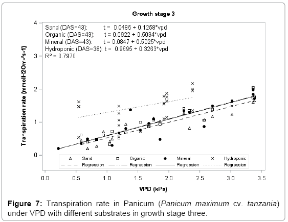 effect of light intensity on transpiration experiment