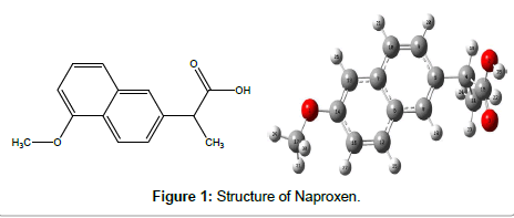 theoretical-computational-science-Structure-Naproxen