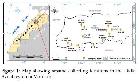 advances-crop-science-Map-showing