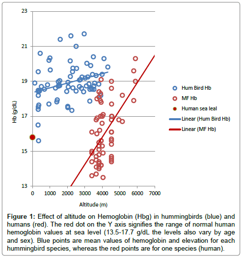 biometrics-biostatistics-effect-altitude-hemoglobin
