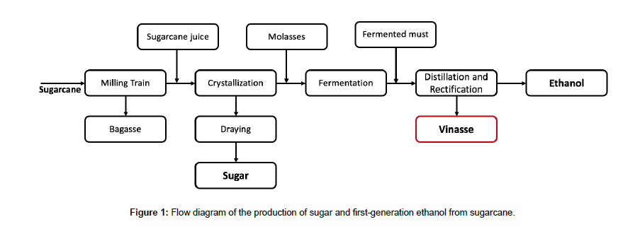 anaerobic treatment of vinasse from sugarcane ethanol production inchemical engineering process technology generation ethanol figure 1 flow diagram of the production