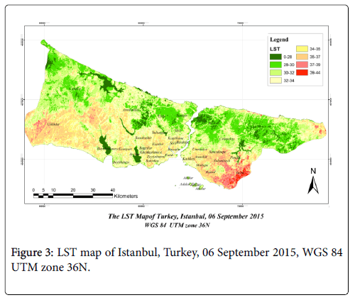 Analysis of the Relationship between Urban Heat Island and