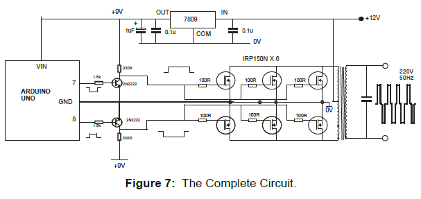 Design and Simulation of a 1kVA Arduino Microcontroller Based