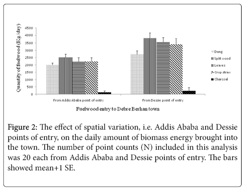 Supply and Consumption of Household Energy in Central Ethiopia: The