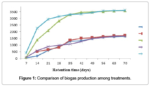 Study on Biogas Production Potential of Leaves of <em